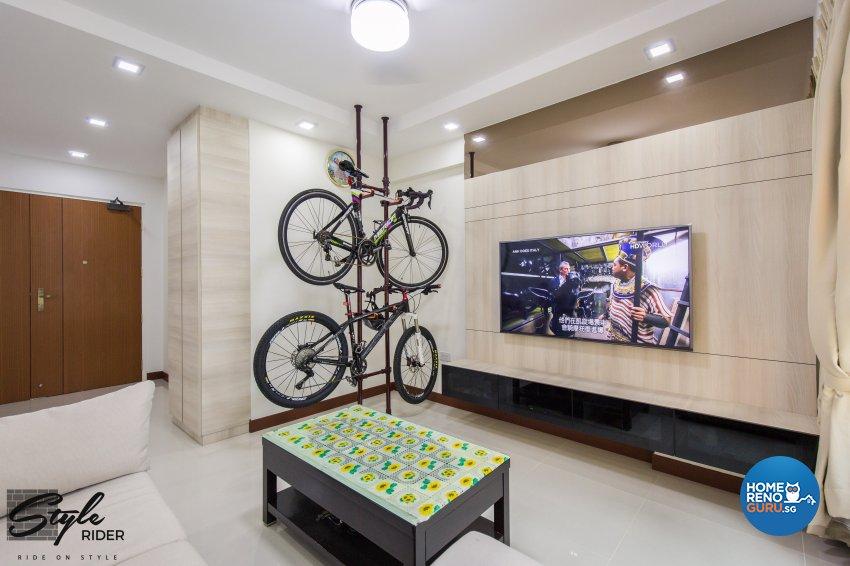 Stylerider Pte Ltd Hdb Bto 4 Room 163b Rivervale Delta
