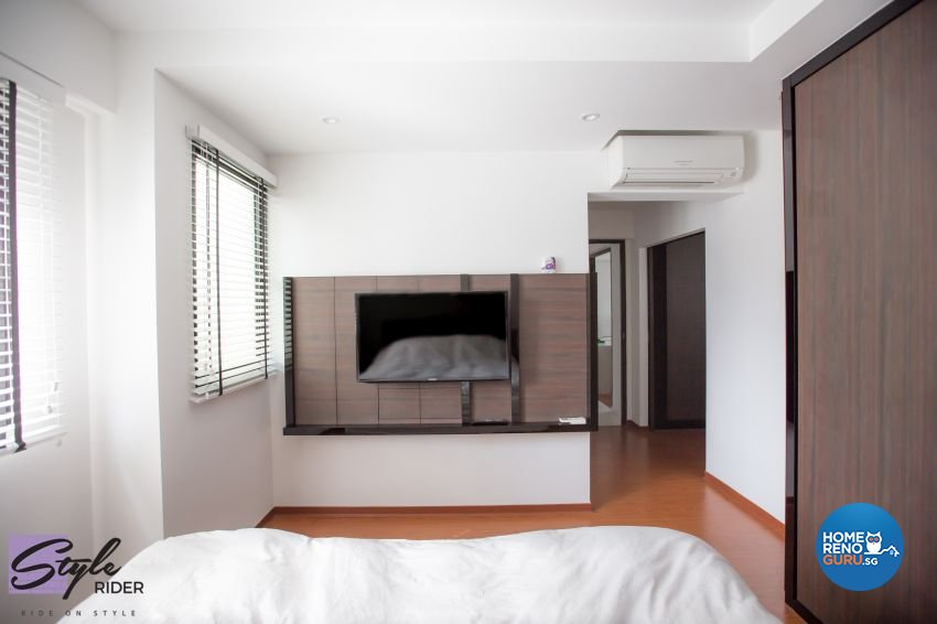 Modern, Scandinavian Design - Bedroom - HDB 4 Room - Design by Stylerider Pte Ltd