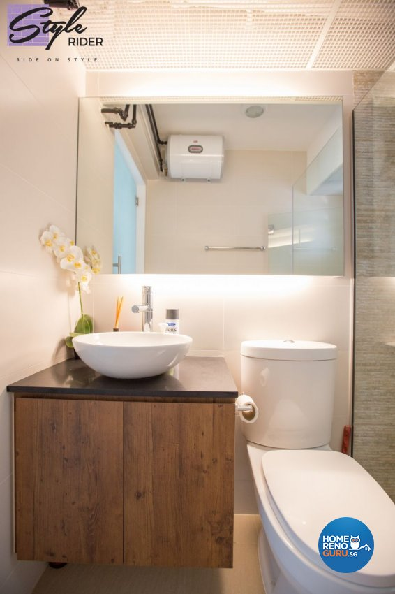 Modern, Scandinavian Design - Bathroom - HDB 4 Room - Design by Stylerider Pte Ltd