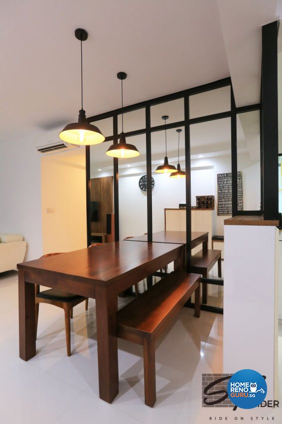 Modern, Scandinavian Design - Dining Room - HDB 4 Room - Design by Stylerider Pte Ltd