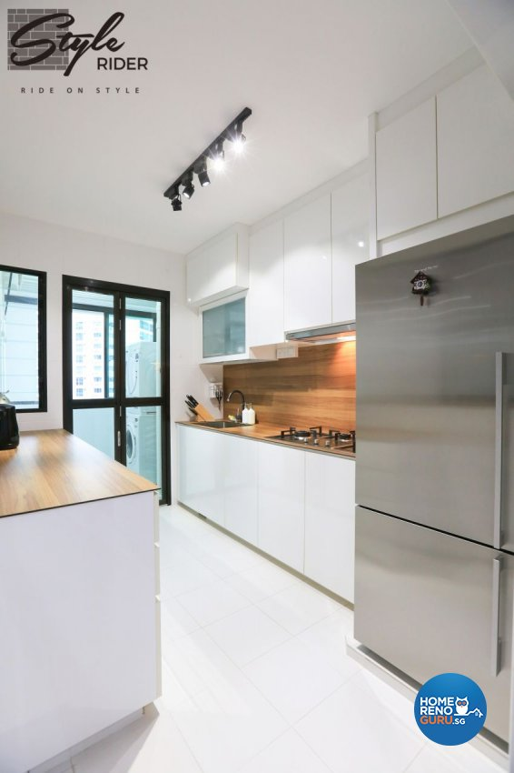 Modern, Scandinavian Design - Kitchen - HDB 4 Room - Design by Stylerider Pte Ltd