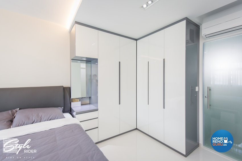Classical, Contemporary, Modern Design - Bedroom - HDB 5 Room - Design by Stylerider Pte Ltd