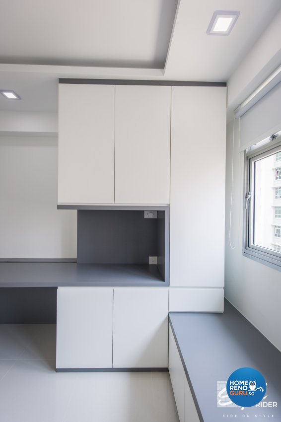 Classical, Contemporary, Modern Design - Study Room - HDB 5 Room - Design by Stylerider Pte Ltd