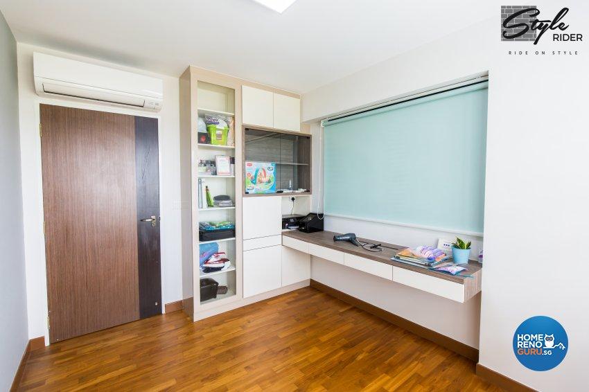 Eclectic, Modern, Scandinavian Design - Study Room - HDB 5 Room - Design by Stylerider Pte Ltd