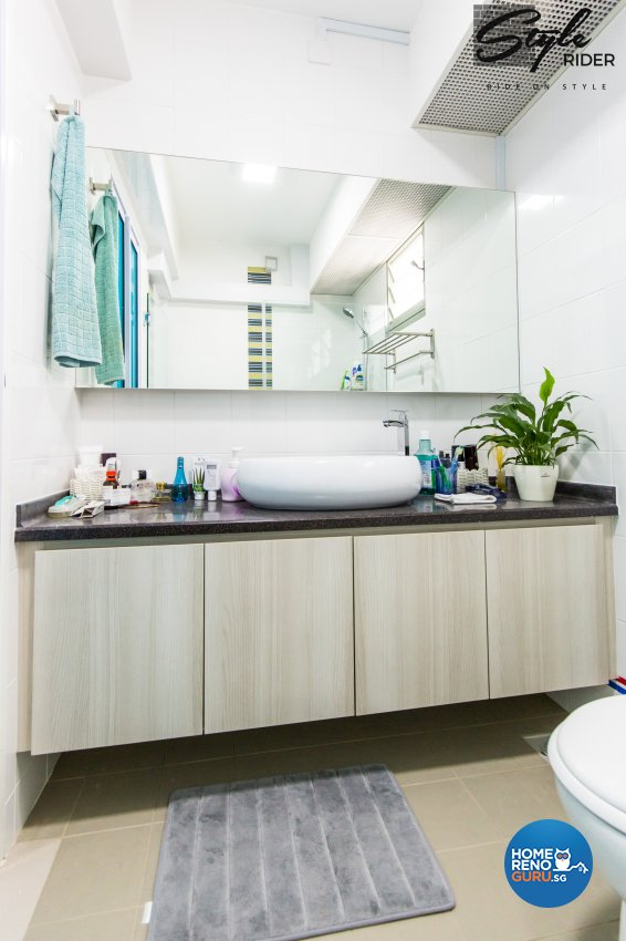 Eclectic, Modern, Scandinavian Design - Bathroom - HDB 5 Room - Design by Stylerider Pte Ltd