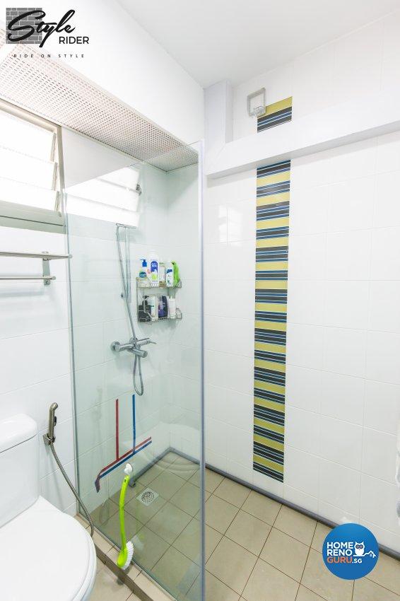 Eclectic, Modern, Scandinavian Design - Bathroom - HDB 5 Room - Design by Stylerider Pte Ltd