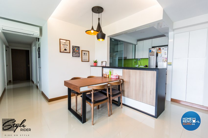 Eclectic, Modern, Scandinavian Design - Dining Room - HDB 5 Room - Design by Stylerider Pte Ltd
