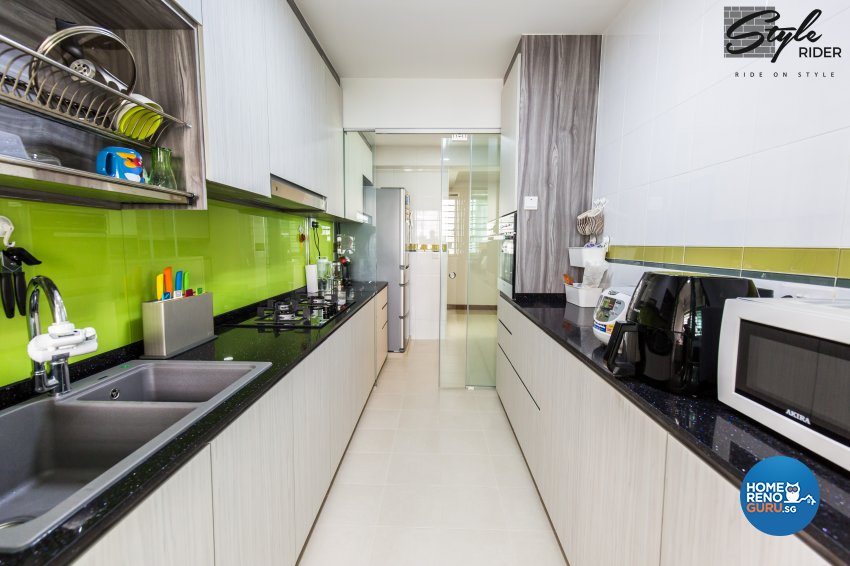 Eclectic, Modern, Scandinavian Design - Kitchen - HDB 5 Room - Design by Stylerider Pte Ltd
