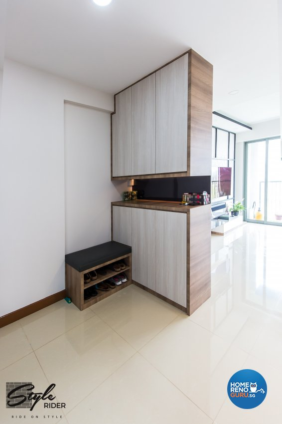 Eclectic, Modern, Scandinavian Design - Living Room - HDB 5 Room - Design by Stylerider Pte Ltd
