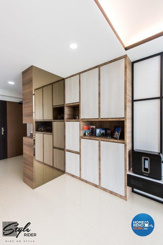 Eclectic, Modern, Scandinavian Design - Living Room - HDB 5 Room - Design by Stylerider Pte Ltd