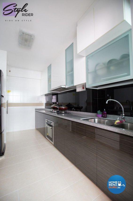 Classical, Contemporary, Modern Design - Kitchen - HDB 5 Room - Design by Stylerider Pte Ltd