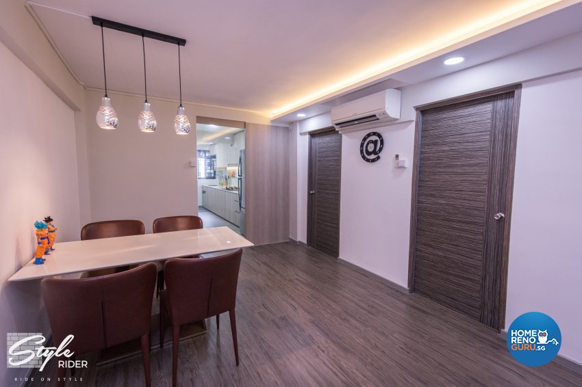 Classical, Contemporary, Minimalist Design - Dining Room - HDB 3 Room - Design by Stylerider Pte Ltd