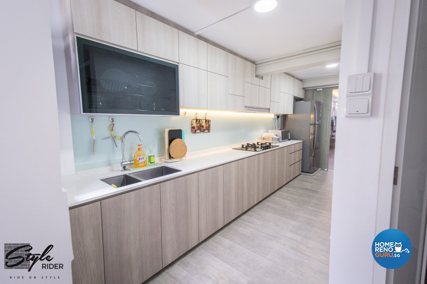 Classical, Contemporary, Minimalist Design - Kitchen - HDB 3 Room - Design by Stylerider Pte Ltd