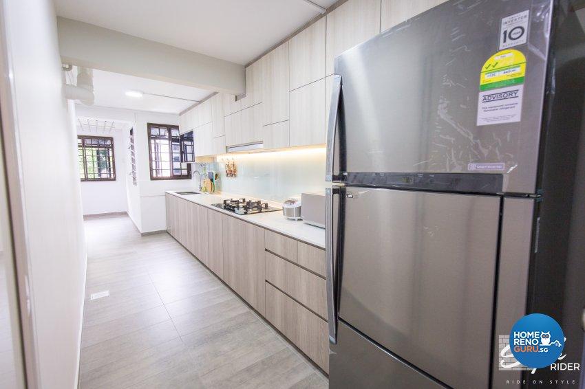 Classical, Contemporary, Minimalist Design - Kitchen - HDB 3 Room - Design by Stylerider Pte Ltd