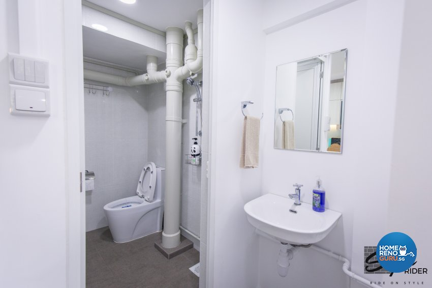 Classical, Contemporary, Minimalist Design - Bathroom - HDB 3 Room - Design by Stylerider Pte Ltd