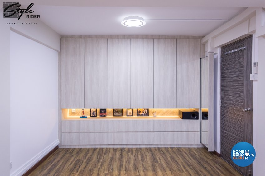 Classical, Contemporary, Minimalist Design - Bedroom - HDB 3 Room - Design by Stylerider Pte Ltd