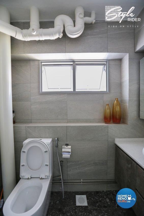 Classical, Contemporary, Modern Design - Bathroom - HDB 5 Room - Design by Stylerider Pte Ltd