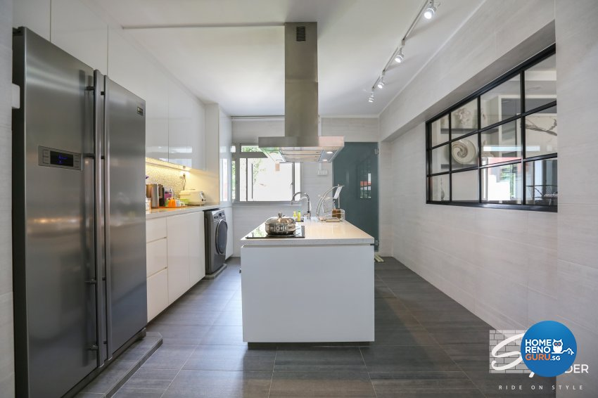 Classical, Contemporary, Modern Design - Kitchen - HDB 5 Room - Design by Stylerider Pte Ltd