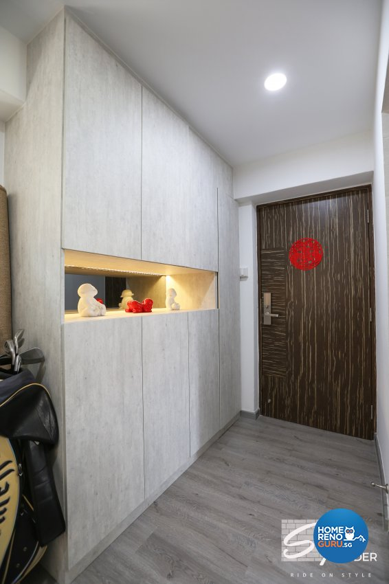 Classical, Contemporary, Modern Design - Living Room - HDB 5 Room - Design by Stylerider Pte Ltd