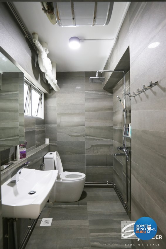 Classical, Contemporary, Modern Design - Bathroom - HDB 5 Room - Design by Stylerider Pte Ltd