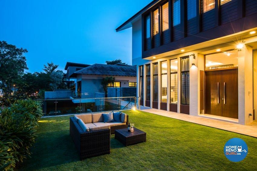 Modern Design - Living Room - Landed House - Design by Summerhaus D'zign Pte Ltd