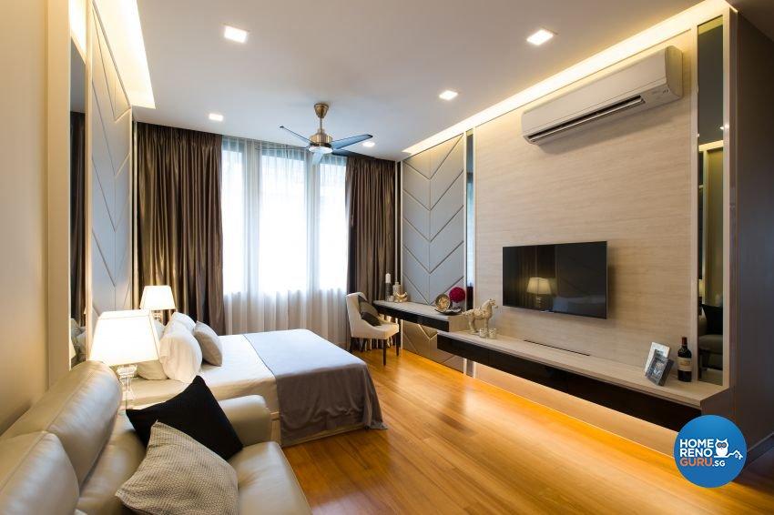 Modern Design - Bedroom - Landed House - Design by Summerhaus D'zign Pte Ltd