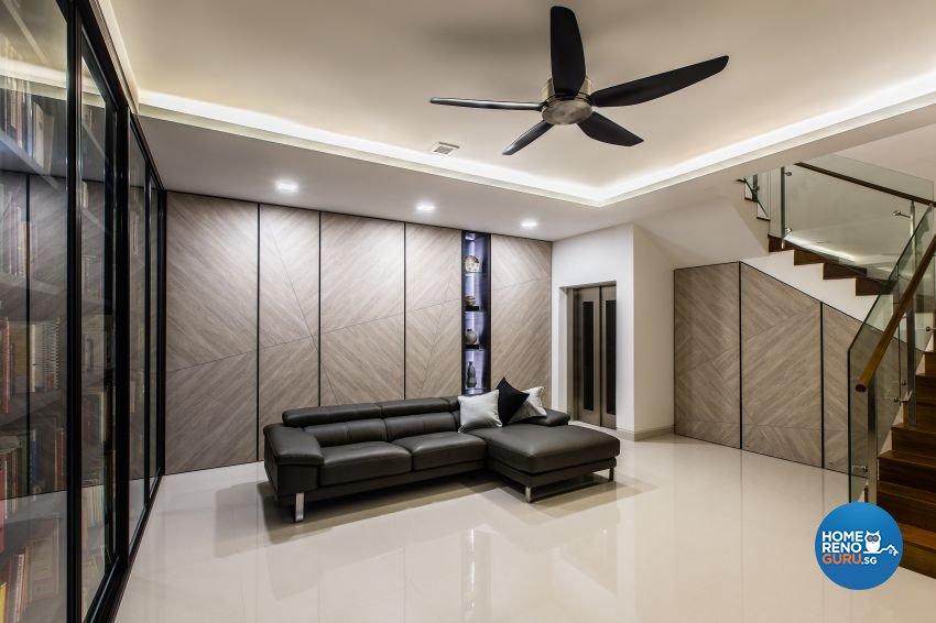 Modern Design - Entertainment Room - Landed House - Design by Summerhaus D'zign Pte Ltd