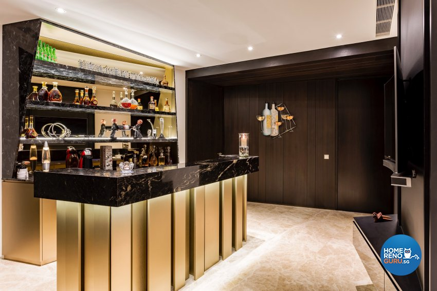 Contemporary, Modern Design - Entertainment Room - Condominium - Design by Summerhaus D'zign Pte Ltd