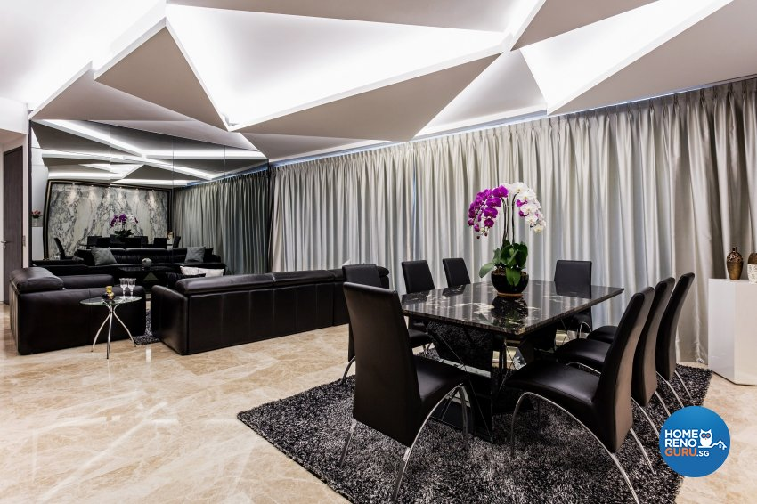 Contemporary, Modern Design - Dining Room - Condominium - Design by Summerhaus D'zign Pte Ltd