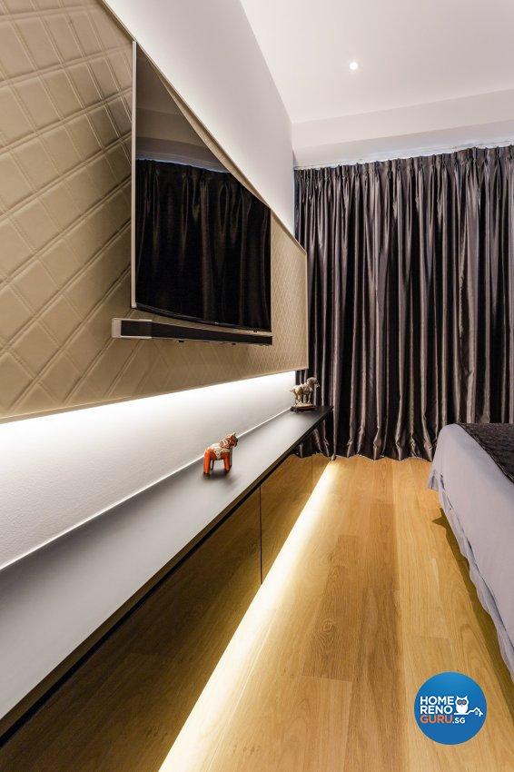 Contemporary, Modern Design - Bedroom - Condominium - Design by Summerhaus D'zign Pte Ltd