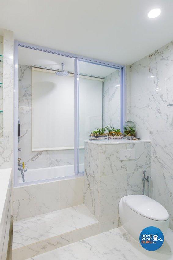 Classical, Modern, Victorian Design - Bathroom - Condominium - Design by Summerhaus D'zign Pte Ltd