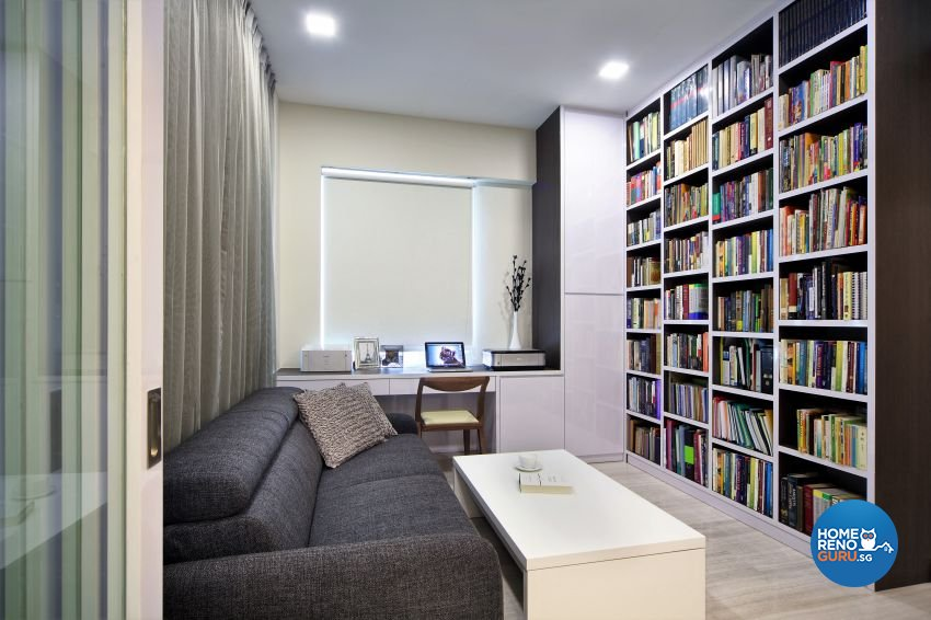 Contemporary, Modern Design - Study Room - Condominium - Design by Summerhaus D'zign Pte Ltd