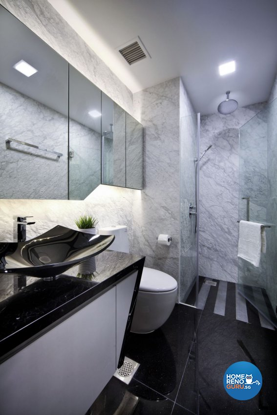 Contemporary, Modern Design - Bathroom - Condominium - Design by Summerhaus D'zign Pte Ltd