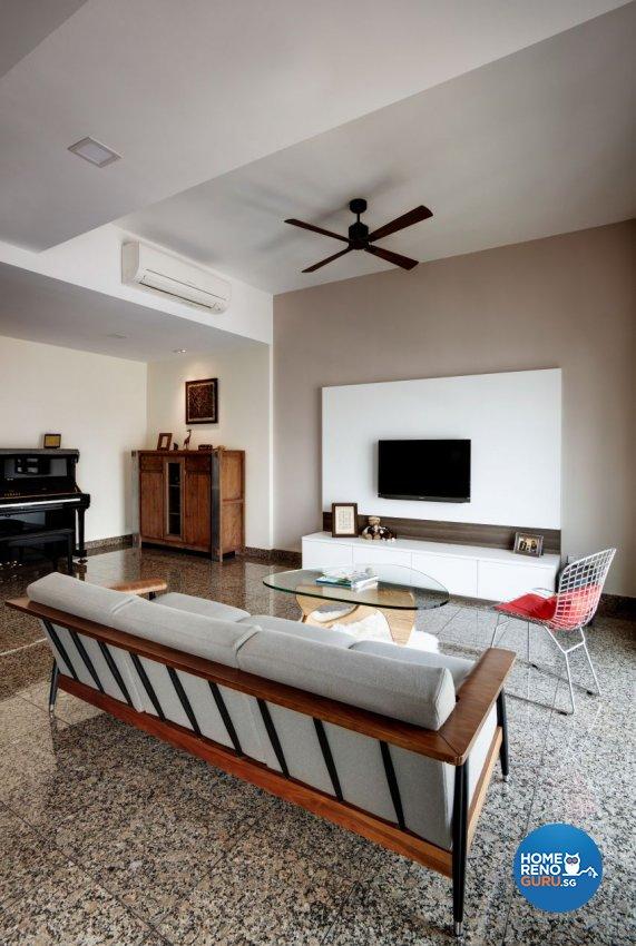 Eclectic Design - Living Room - Condominium - Design by Summerhaus D'zign Pte Ltd