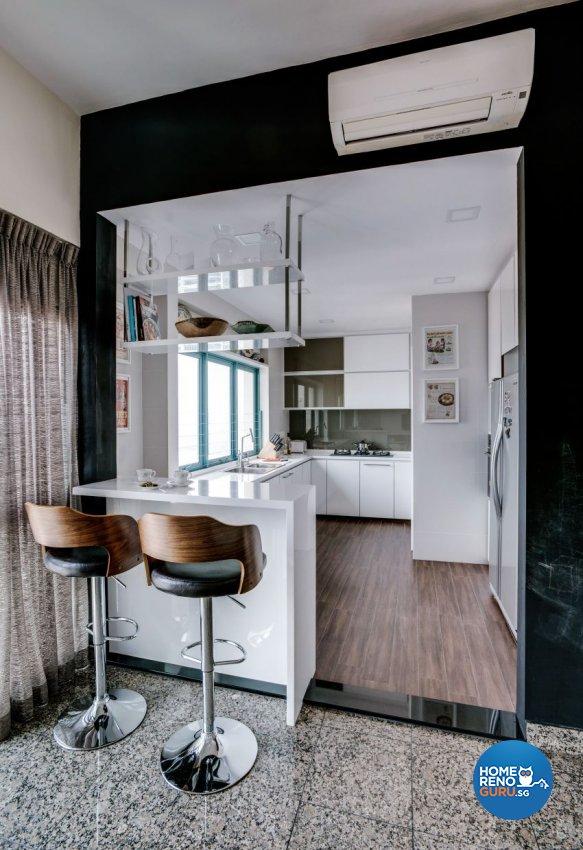 Eclectic Design - Kitchen - Condominium - Design by Summerhaus D'zign Pte Ltd