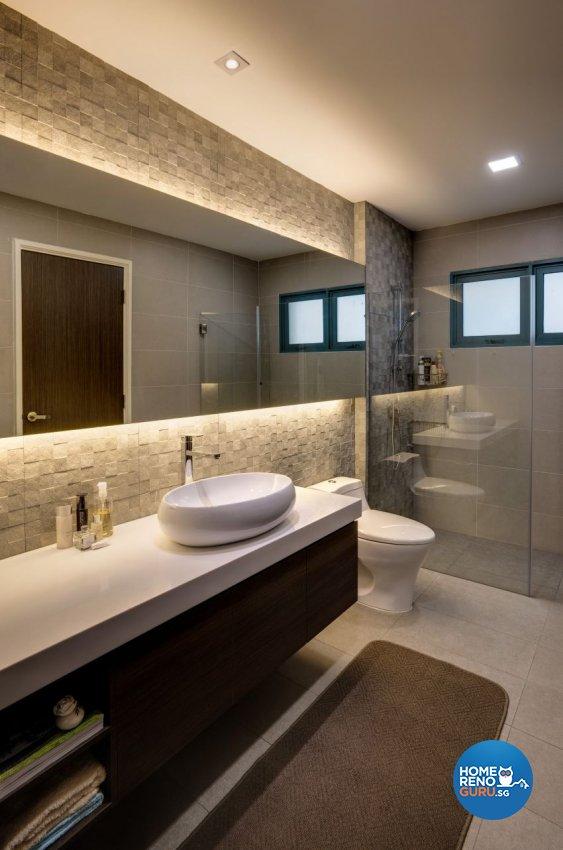 Eclectic Design - Bathroom - Condominium - Design by Summerhaus D'zign Pte Ltd
