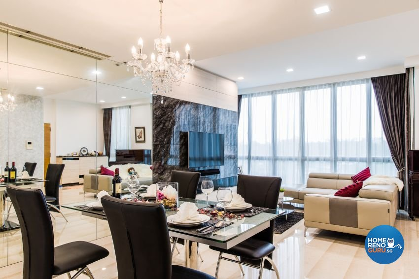 Modern Design - Dining Room - Condominium - Design by Summerhaus D'zign Pte Ltd