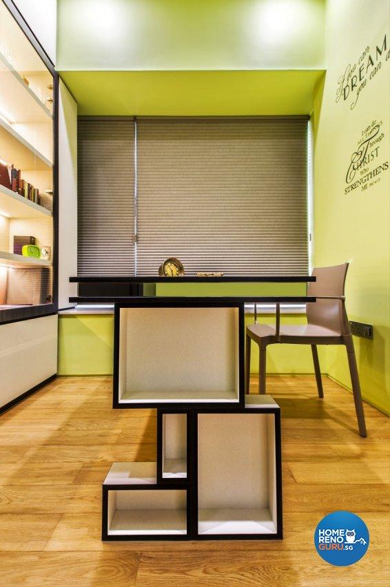 Modern Design - Study Room - Condominium - Design by Summerhaus D'zign Pte Ltd