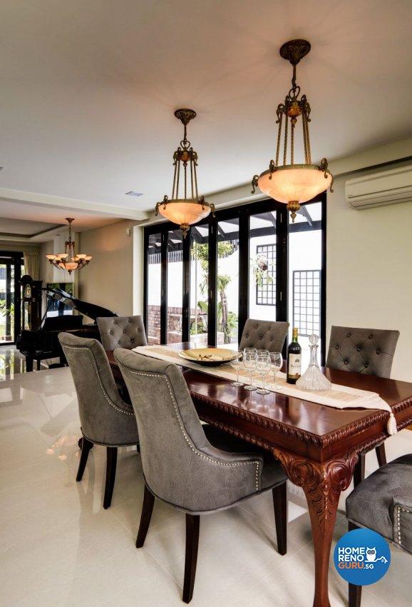 Classical, Modern, Resort Design - Dining Room - Landed House - Design by Summerhaus D'zign Pte Ltd