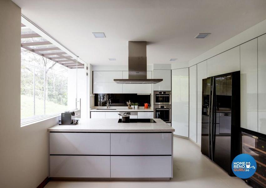 Classical, Modern, Resort Design - Kitchen - Landed House - Design by Summerhaus D'zign Pte Ltd