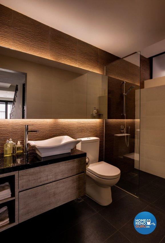 Classical, Modern, Resort Design - Bathroom - Landed House - Design by Summerhaus D'zign Pte Ltd