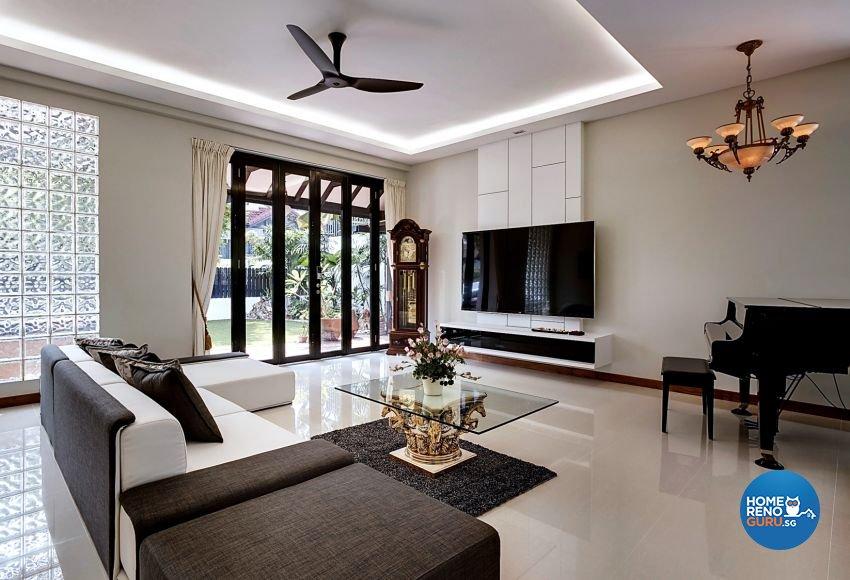 Classical, Modern, Resort Design - Living Room - Landed House - Design by Summerhaus D'zign Pte Ltd