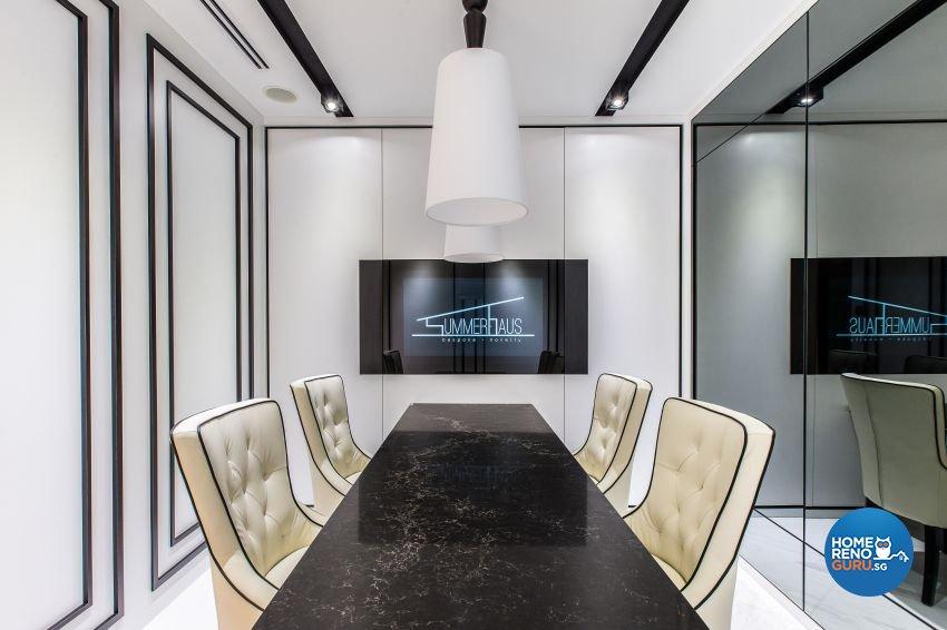 Modern, Victorian Design - Study Room - Office - Design by Summerhaus D'zign Pte Ltd