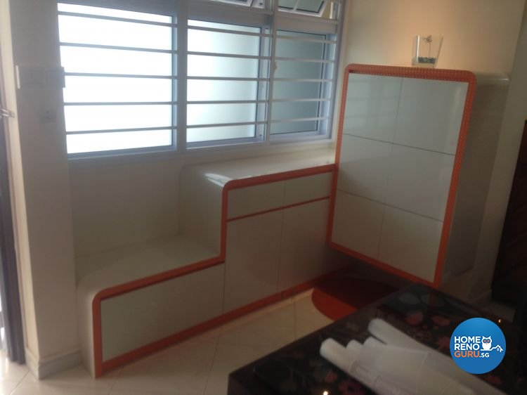 Minimalist, Modern Design - Living Room - HDB 5 Room - Design by Summit Design Studio