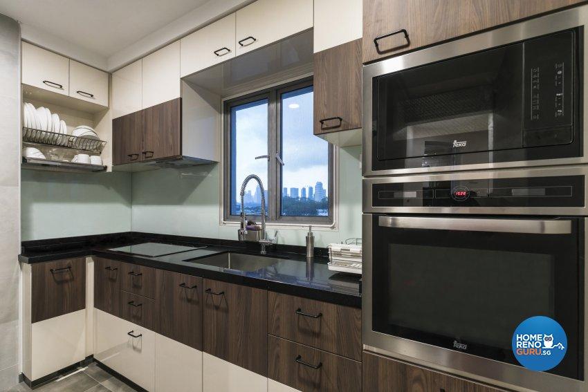 Modern Design - Kitchen - HDB 3 Room - Design by Summit Design Studio