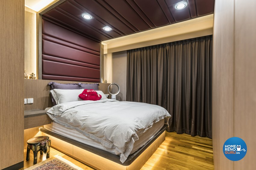 Modern Design - Bedroom - HDB 3 Room - Design by Summit Design Studio