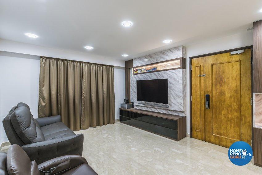 Modern Design - Living Room - HDB 3 Room - Design by Summit Design Studio