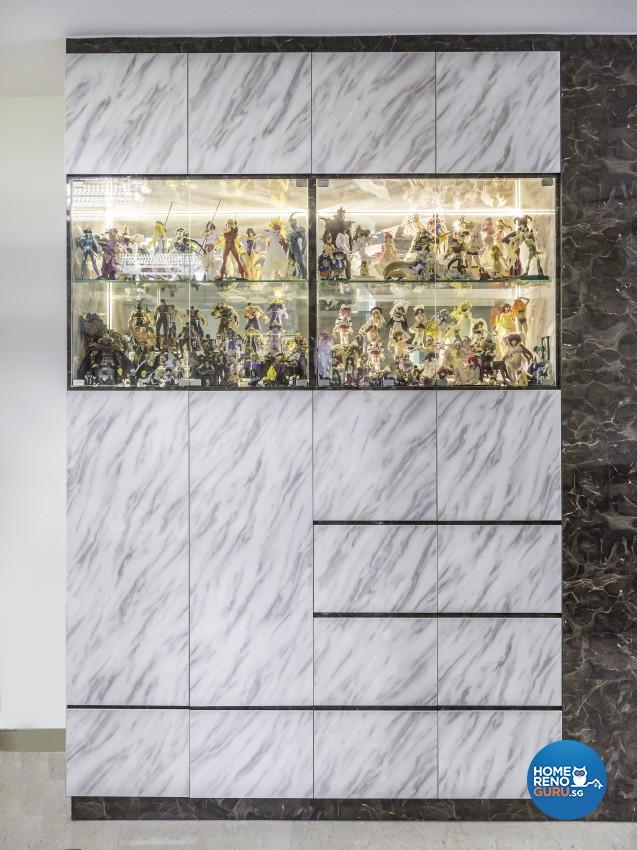 Contemporary Design - Living Room - Condominium - Design by Summit Design Studio