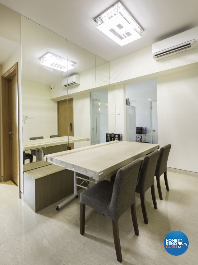 Contemporary Design - Dining Room - Condominium - Design by Summit Design Studio