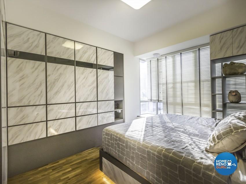 Contemporary Design - Bedroom - Condominium - Design by Summit Design Studio